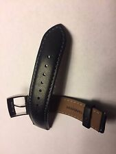 GENUINE Huawei Watch Black Leather Strap 18mm Width, Quick-Release, Leather Band