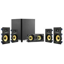 "Tdx 5.1 Surround Sound Home Theater System, 6.5"" In-Wall Speakers, 12"" Subwoofer"