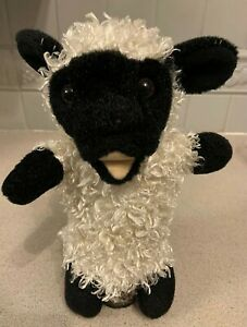 """THE PUPPET COMPANY SUPERSOFT WHITE SHEEP  11""""  GLOVE PUPPET- VGC"""