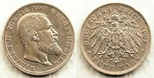 Alemania - Wilhelm II. 5 Marcos 1903 F. Frankfurt. MBC+/VF+. Plata 27,6 g.