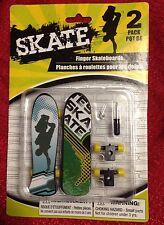 SKATE Finger Skateboards includes Spare parts & Mini Screw Driver 2 Boards NEW