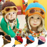 Winter Baby Earflap Toddler Girl Boy Kids Windproof Cap Warm Soft  Hat Hot