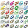 hot color 40pcs Faceted Teardrop glass crystal Spacer beads 8x12mm 124colors