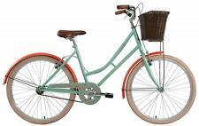 """New Elswick Infinity Ladies 26"""" Wheel 17"""" Frame Heritage Bike Bicycle Green"""