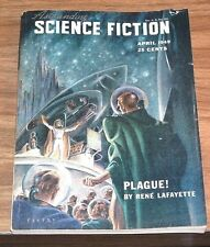 ASTOUNDING SCIENCE FICTION April 1949 ERIC FRANK RUSSELL+L.RON HUBBARD 4/49
