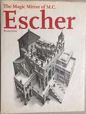 THE MAGIC MIRROR OF M.C. ESCHER by Bruno Ernst (1994) B&N illustrated HC