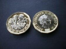 2019 £1 One Pound Coin Nations of the Crown Brilliant Uncirculated