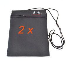 2 x Brustbeutel Tasche Reisebrieftascheb Reisen  Brieftasche Aktuell wie nie