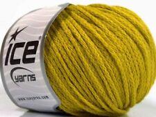 Rock Star 51550 Gold Black Shiny Soft Nylon Merino Wool Yarn 50g 125y