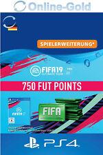 FIFA 19 PlayStation 4 - 750 FUT Points Key FIFA Ultimate Team PS4 - DE Account