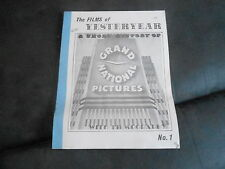 #1 FILMS OF YESTERYEAR movie magazine - GRAND NATIONAL PICTURES
