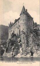 Dintorni DEL PUY - la château la chiave di volta Polignac - vista tiro La Loire
