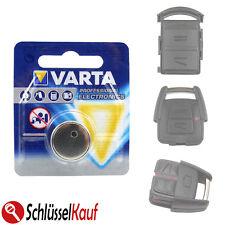 Varta Batterie clé pour OPEL ASTRA CORSA MERIVA vectra zafira clés de voiture
