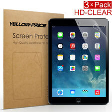 3 pack Premium LCD Clear Screen Protector Guard Flim for Apple iPad 2 3 4 Gen
