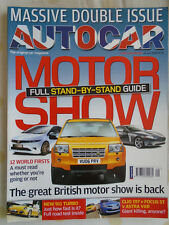 Autocar 19/7/06 Porsche 911 Turbo, Clio 197 vs Focus ST