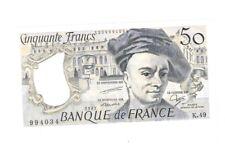 FRANKRIJK 50 FRANCS 1987 MAURICE QUENTIN UNCIRCULATED