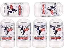 6 x 50g DEONAT Crystal Sports Stick Deodorant ( Ideal for Sensitive Skin )