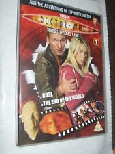 Doctor Who Rose + The End Of The World (Series 1 Ep 1& 2)   DVD
