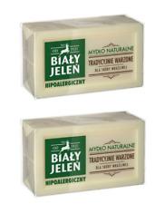 Biały Jeleń Hipoalergiczne Mydło Naturalne Hypoallergenic Natural Soap  2x150g