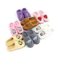 BT21 Rosa Fluffy Slippers - 4 sizes