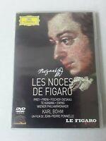 LES NOCES DE FIGARO * Mozart * Fischer-Dieskau *Kanawa * OPERA * DVD Comme neuf