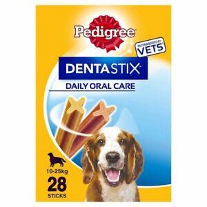 Pedigree Denta Stix Medium Dental Dog Chews x28