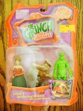 2000--HOW THE GRINCH STOLE CHRISTMAS! w/ Martha (Action Figures) Playmates [NIP]