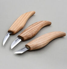 Wood Carving Knives 3pcs NEW Beginner Set Tools Kit Whittling Detail Knife Craft