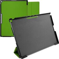 Artificial Leather Case for Google Pixel C - Tri-Fold green + protective foils