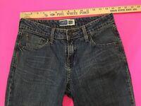 Levi's jeans women's size 6 Mid Rise Boot Cut Short Waist 29 Inseam 28.5