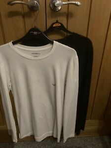 Armani Jeans Long Sleeve T Shirt