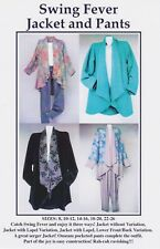 Swing Fever Jacket and Pants Pattern,CNT Pattern, Sizes 8-26, DIY Garment Sewing