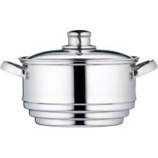 Kitchencraft kccvuni Universel-vapeur pour 16 - 20 cm Pots, en acier inoxydable