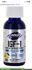 IGF 1 Deer Antler Velvet Liposomal Spray Now Sport 1 fl oz Free Fast 1st Cl Ship