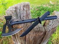 Tomahawk Messer Machete Axt Beil  Knife Rettungsaxt Tactical  Ascia Hache NEU