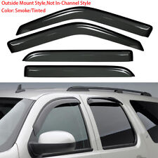 Window Visor Rain Guard Vent Shade Fit 98-17 Ford Expedition/Lincoln Navigator
