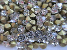 10 Gross Machine Cut Crystal Rhinestones - SS15 / PP30 - Complete with Package