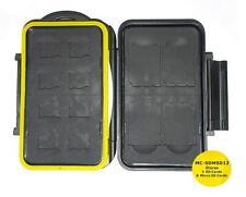 JJC MC-SDMSD12 Rugged Waterproof Memory Card Case (4x SD / 8x microSD)