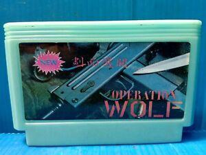 rare vintage famiclone OPERATION WOLF Old Famicom nes cartridge