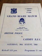 Polizia britannica V Cardiff Royal Football Club