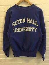 Vintage 80s Champion Seton Hall University Reverse Weave Sweatshirt Men's SZ M