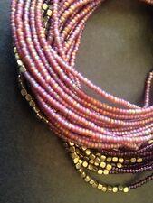 "Beaded Necklace. 35 1/2"" New Eddie Bauer boho Multi strand"