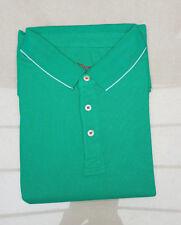 BNIP Men's Savile Row Piqué Short Sleeve Polo Shirt XXXL Green Perfect Present!