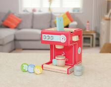 Indigo Jamm Wooden Coffee Machine, Pretend play kitchen toy