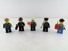 Lego® City 5 Figuren Minifiguren Polizei Dieb Police  mit Zubehör