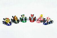 Super Mario Bros Kart Kids Toys Pull Back Car Figures 6 Pcs Set Party Gift