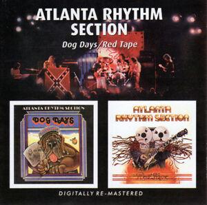 Atlanta Rhythm Section - DOG DAYS, RED TAPE CD 2009
