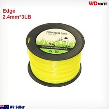 2.4mm Trimmer Line 3LB Square 250M Cord Brush Cuter Whipper Snipper Mow 94037001