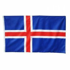 Island Fahne Hiss Flagge 90x150cm Icland