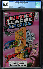 JUSTICE LEAGUE OF AMERICA #2 CGC 5.0 2ND ISSUE IN TITLE CGC #2037503007